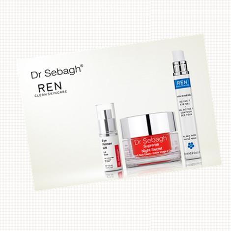 Dr Sebagh赛贝格医生和英国有机护肤品牌Ren闪购