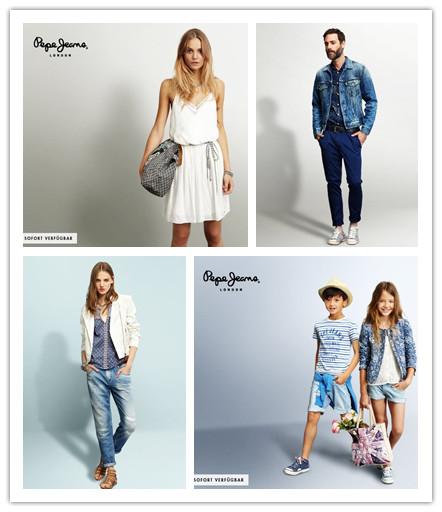 英伦时尚 Pepe Jeans男女及儿童服饰