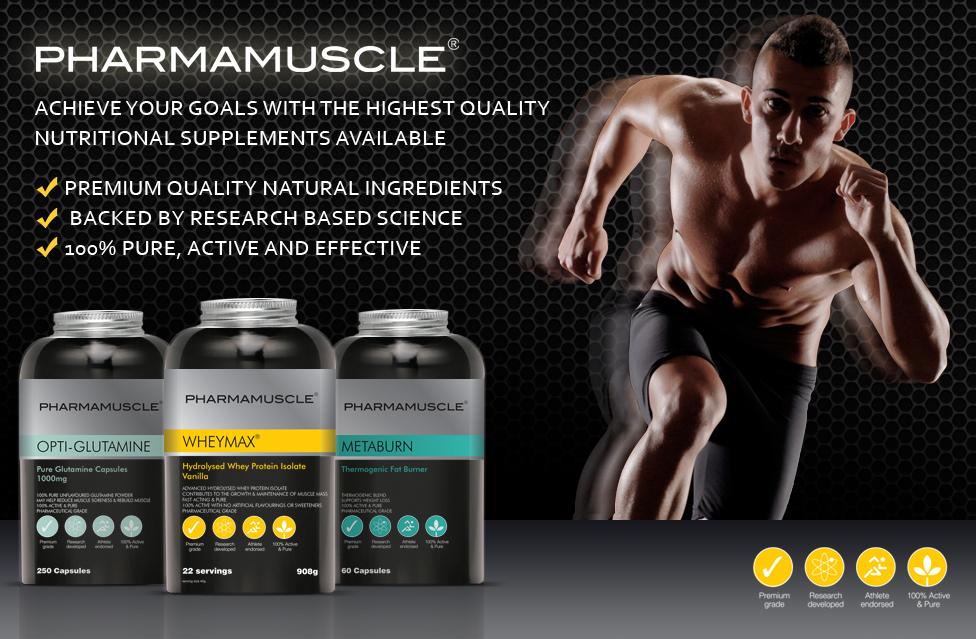 Pharmamusle 专业级增肌蛋白粉产品