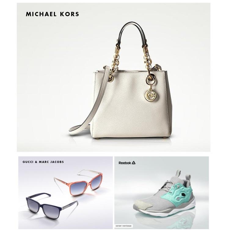Michael Kors包袋/Gucci&Marc Jacobs太阳镜/Reebok运动鞋