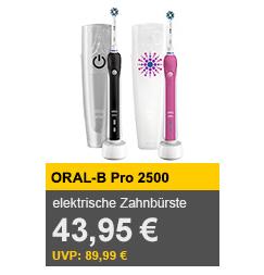 Oral-B Pro 2500 欧乐B电动牙刷