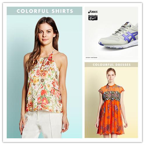 运动鞋品牌Asics/COLOURFUL多彩女装特卖