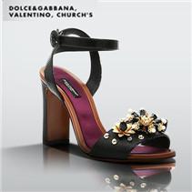 Dolce & Gabbana&Valentino&Church's名品鞋专场
