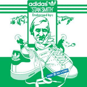 人手一双小白鞋 adidas Originals Stan Smith CF运动鞋