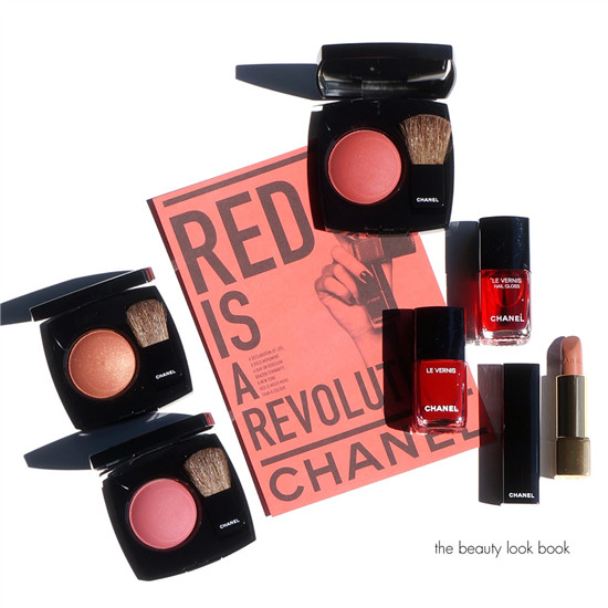 Chanel Joues Contraste Rouge烘焙腮红