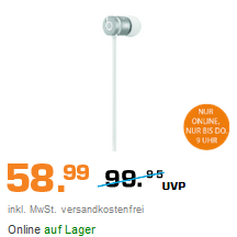 Beats urBeats 6 入耳式耳机 银色款