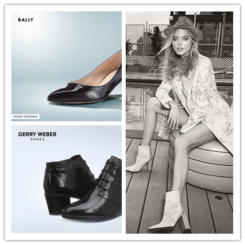瑞士奢侈品牌Bally男女鞋履/Boss Orange & Boss Green男女装/德国Gerry Weber女鞋