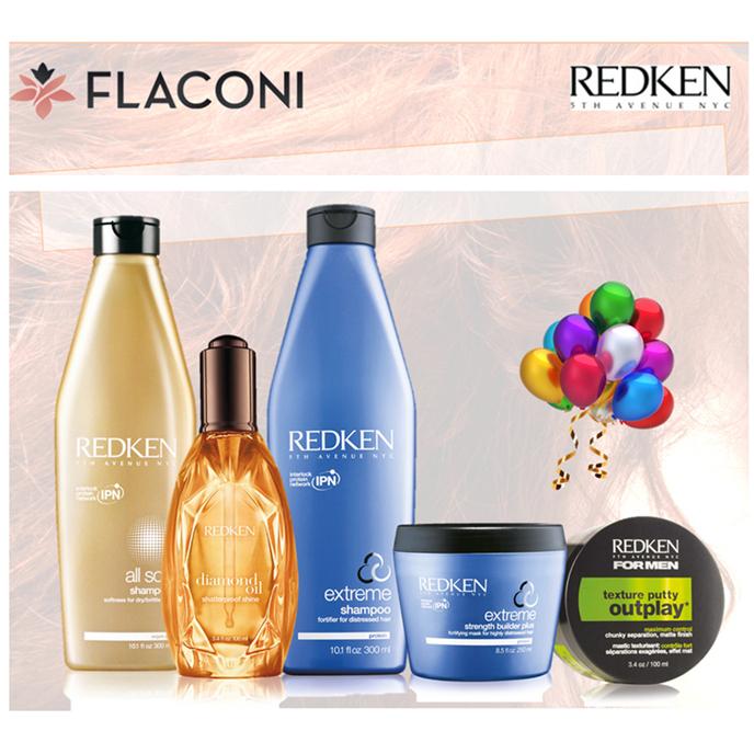 沙龙级美发品牌REDKEN列德肯