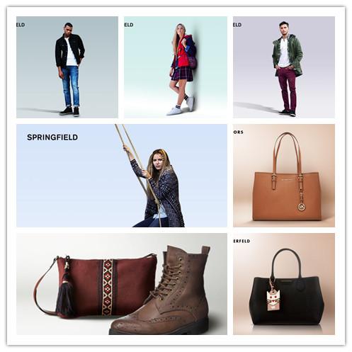 引领潮流Michael Kors包袋特卖/时尚大帝Karl Lagerfeld包包/小清新男女装 SPRINGFIELD