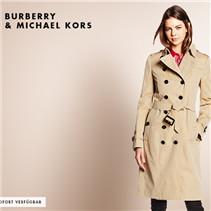 英国皇室御用品牌Burberry及Michael Kors男女装卖场
