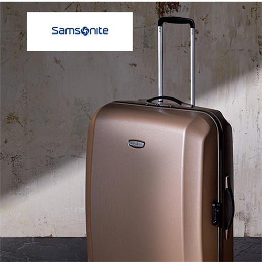 拥有百年历史、享誉世界的箱包品牌 Samsonite