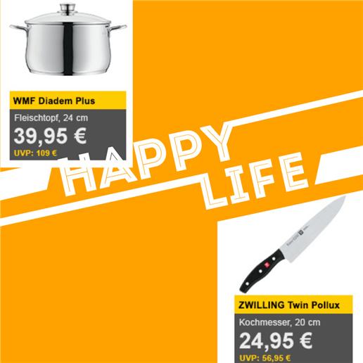 WMF Diadem Plus 系列炖煮锅24cm/Zwilling Twin Pollux厨房刀限时特价活动