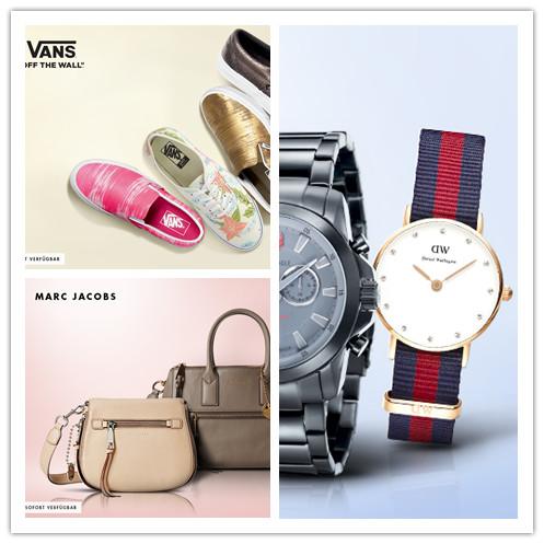 Marc Jacobs包袋/Daniel Wellington、Hugo Boss等时尚腕表大集合/自由随性 Vans鞋履