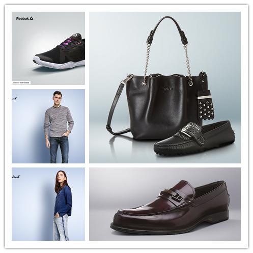 意大利奢侈鞋履Tod's豆豆鞋/7 For All Mankind牛仔服饰/Reebok运动鞋