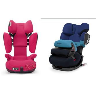 德国Concord Transformer X-Bag变形金刚汽车安全座椅&Cybex Pallas 2-Fix 儿童安全座椅