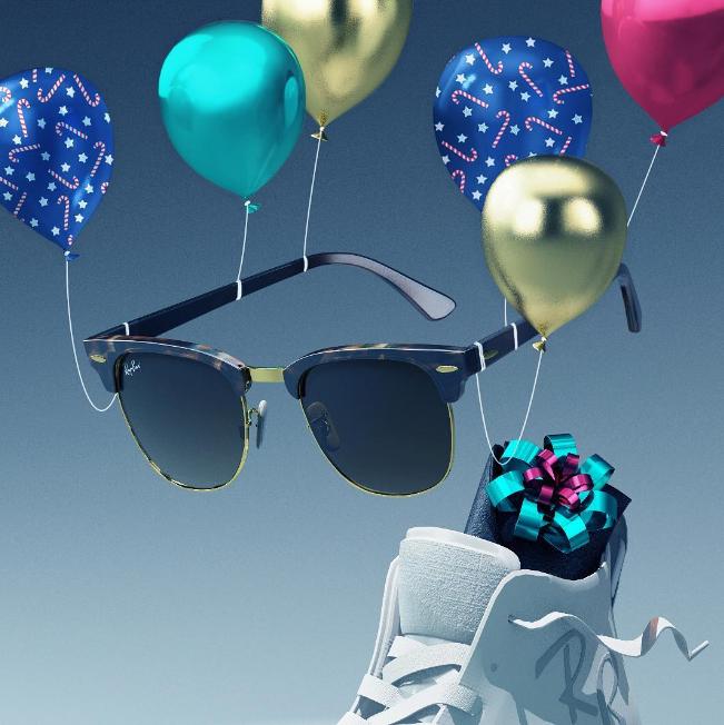 Ray-Ban时尚太阳眼镜