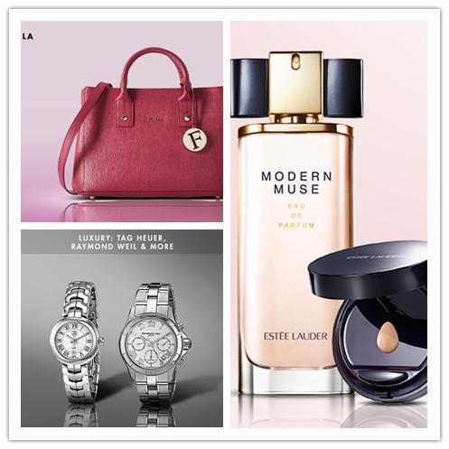 时尚新宠 意大利高端皮具品牌Furla/Estée Lauder 雅诗兰黛护肤彩妆/TAG HEUER, RAYMOND WEIL & MORE 大牌名表