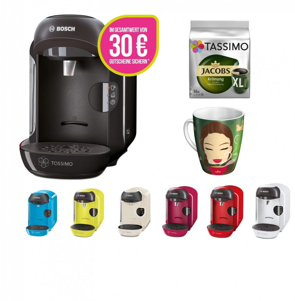 Bosch Tassimo VIVY 咖啡机 多色可选