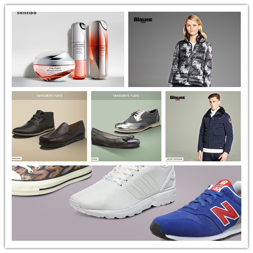 SNEAKERS休闲运动鞋集锦/FAVOURITE FLATS男女鞋集合/美国Blauer 男女服装/Shiseido资生堂专场