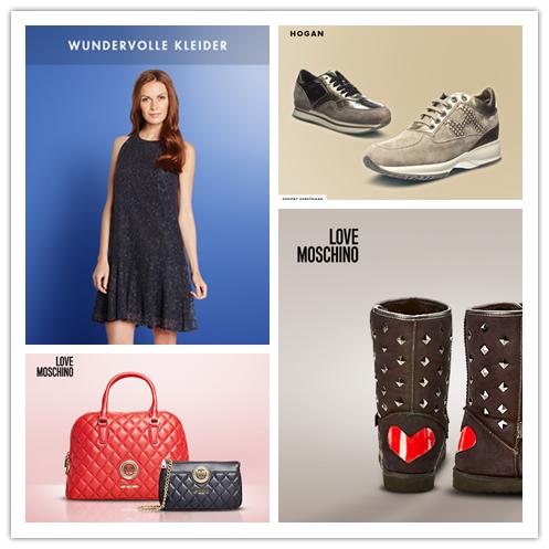 小众独立潮牌 Love Moschino女士鞋包专场/Hogan女鞋/优雅裙装特卖