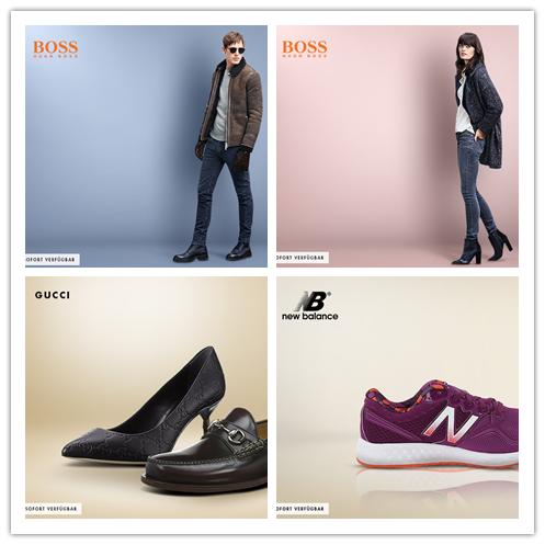 Gucci/Boss Orange / New Balance 鞋包服饰