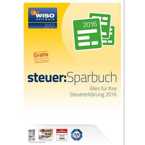 退税软件WISO Steuer-Sparbuch2017(für Steuerjahr2016)