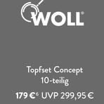 德国制造 Woll专业不粘锅组合10件套