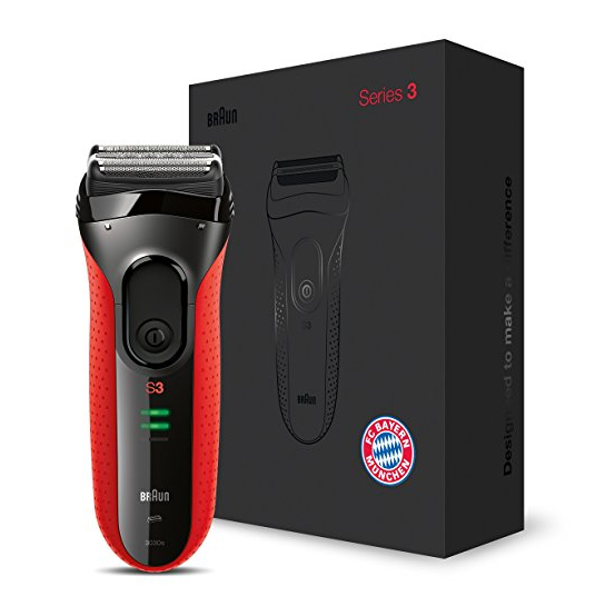 Braun Series 3 3030s  Series 3 3030s 博朗3系剃须刀 拜仁慕尼黑纪念款