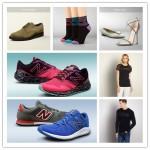经典隽永 Armani 男女服饰/New Balance 男女运动鞋跑鞋及内衣袜子/春夏男女美鞋合集