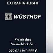 完美工艺 Wüsthof德国三叉牌 x line系列四件套