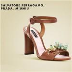 Salvatore Ferragamo, Prada, MIUMIU春夏名品女鞋荟萃