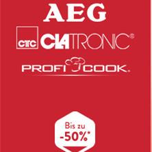 德国Clatronic / AEG / ProfiCook家用小家电专场
