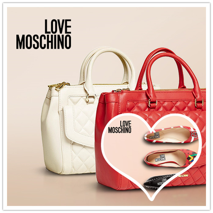 色彩的奇幻世界 Love Moschino包及鞋履