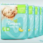 给宝宝最温柔呵护 Pampers帮宝适纸尿布