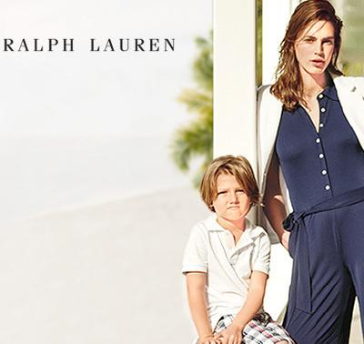 入店必买POLO衫 美国休闲代表Ralph Lauren女装/童装闪购