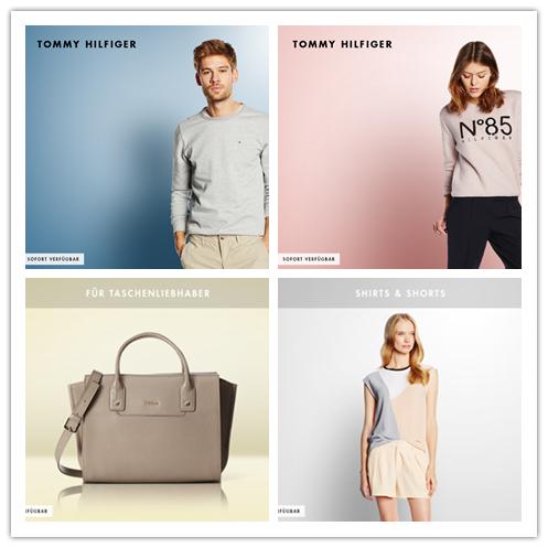 Tommy Hilfiger男女装/Prada ,MK, Furla等名牌包包/女士衬衣短裤集锦