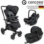 德国Concord NEO 婴儿推车+睡篮+便携式提篮组合