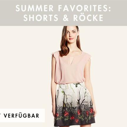 SUMMER FAVORITES夏日清凉 短裤短裙特卖
