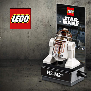 LEGO官网庆祝Star Wars星球大战40周年