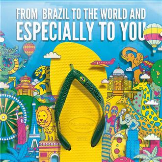 一鞋一世界!全球最好的人字拖-巴西Havaianas