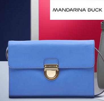 韩星最爱的小众品牌  意大利鸳鸯Mandarina Duck箱包