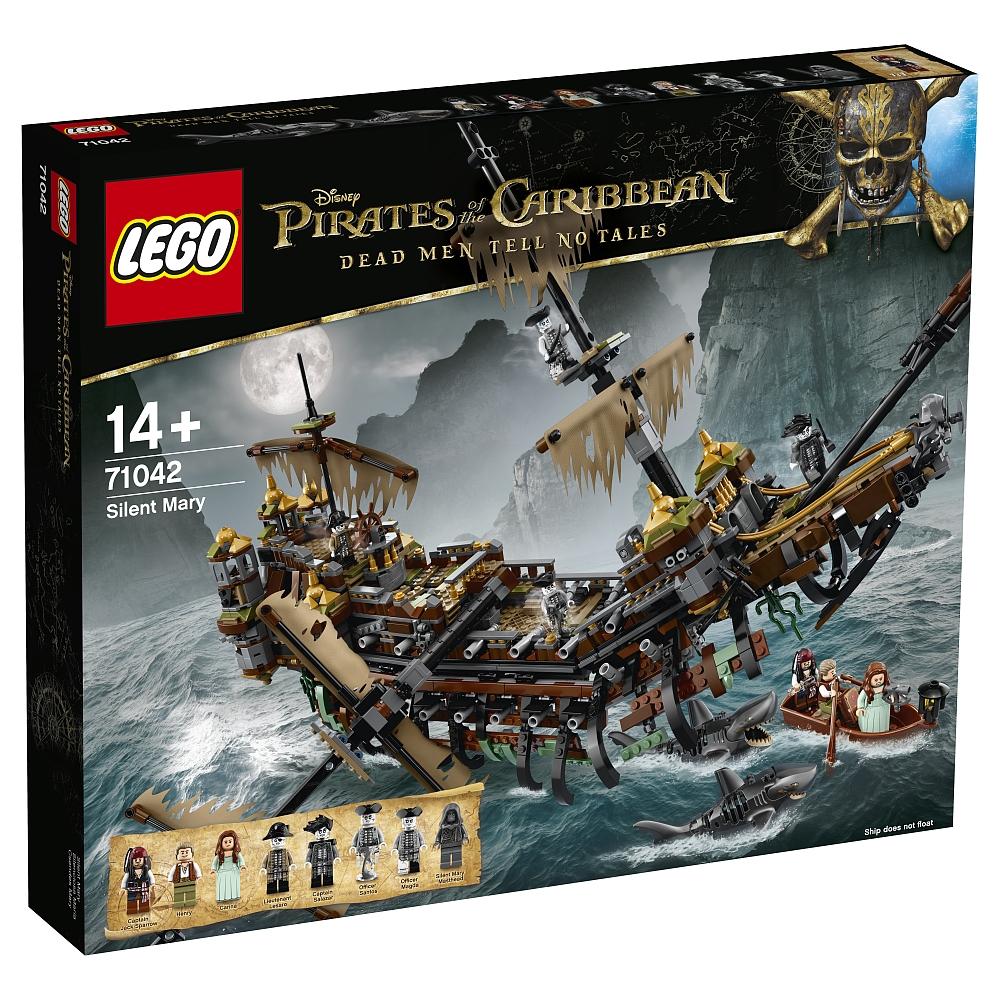 加勒比海盗系列 LEGO 71042 The Silent Mary 沉默玛丽号大船