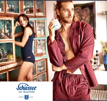 德国居家服专家  Schiesser 舒雅男女内衣、居家服卖场