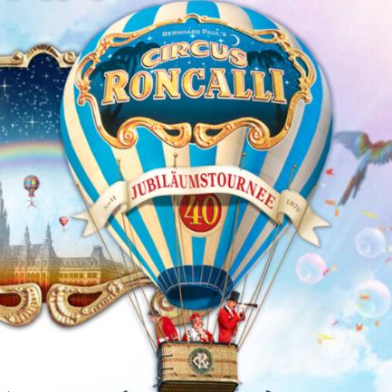 CIRCUS RONCALLI马戏团四十周年精彩表演