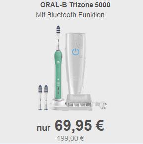 限时好价!欧乐Oral-B Trizone 5000蓝牙交互式电动牙刷
