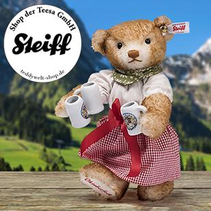 德国国宝级泰迪 Steiff啤酒节泰迪熊