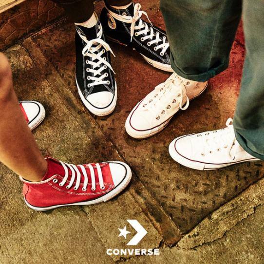 """永远青春的那颗""""星""""  Converse服装鞋履"""