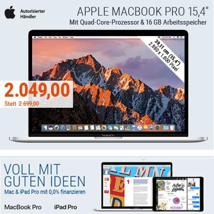 大幅降价~ 苹果MacBook Pro 15寸笔记本电脑