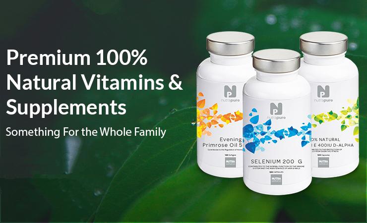 NutraPure 维生素补充剂