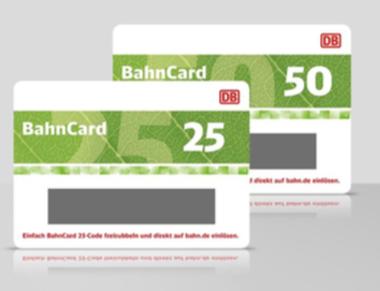 Bahncard 50 probe